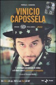 Libro Parole e canzoni. Con DVD Vinicio Capossela