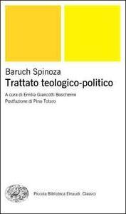 Libro Trattato teologico-politico Baruch Spinoza