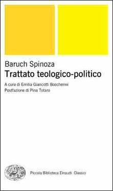 Trattato teologico-politico - Baruch Spinoza - copertina
