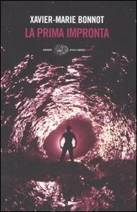 La prima impronta - Xavier-Marie Bonnot - copertina