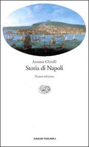 Storia di Napoli - Antonio Ghirelli - copertina