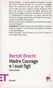 Libro Madre Courage e i suoi figli Bertolt Brecht