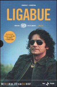Foto Cover di Parole e canzoni. Con DVD, Libro di Luciano Ligabue, edito da Einaudi