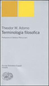 Terminologia filosofica