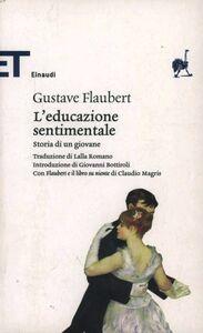 Libro L' educazione sentimentale Gustave Flaubert