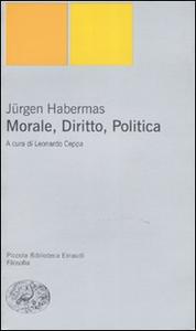 Libro Morale, diritto, politica Jürgen Habermas