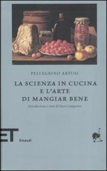 La scienza in cucina e l'arte di mangiar bene - Pellegrino Artusi - copertina