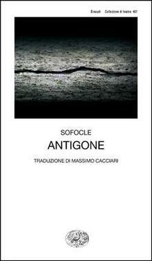 Antigone - Sofocle - copertina