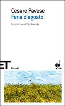 Feria d'agosto - Cesare Pavese - copertina