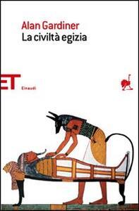La civiltà egizia - Alan Gardiner - copertina