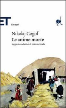 Le anime morte - Nikolaj Gogol' - copertina