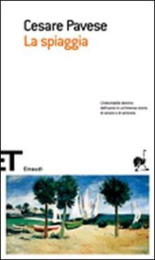La spiaggia - Cesare Pavese - copertina
