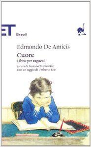 Foto Cover di Cuore, Libro di Edmondo De Amicis, edito da Einaudi
