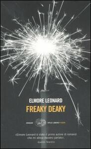Freaky deaky - Elmore Leonard - copertina