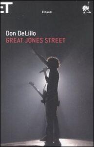 Libro Great Jones street Don DeLillo