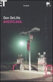 Americana - Don DeLillo - copertina