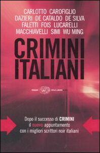 Foto Cover di Crimini italiani, Libro di  edito da Einaudi