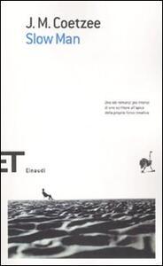 Slow man - J. M. Coetzee - copertina