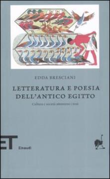 Premioquesti.it Letteratura e poesia dell'antico Egitto. Cultura e società attraverso i testi Image