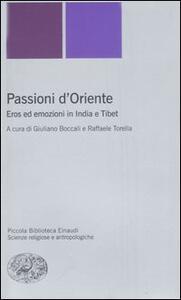 Passioni d'Oriente. Eros ed emozioni in India e Tibet - copertina