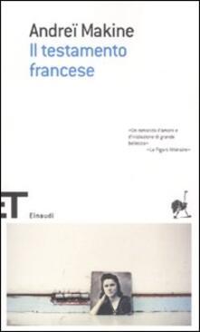 Radiosenisenews.it Il testamento francese Image
