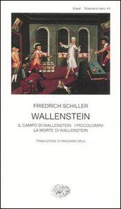 Libro Wallestein Friedrich Schiller