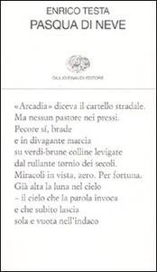 Pasqua di neve - Enrico Testa - copertina