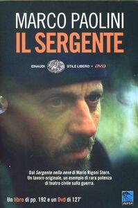 Libro Il sergente. DVD. Con libro Marco Paolini