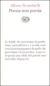 Libro Poesia non poesia Alfonso Berardinelli