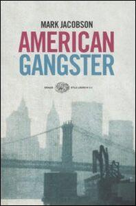 Libro American gangster Mark Jacobson