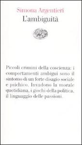 L' ambiguità - Simona Argentieri - copertina