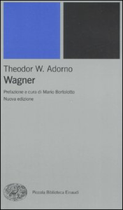 Libro Wagner Theodor W. Adorno