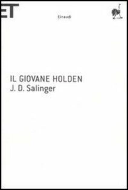 Il giovane Holden - J. D. Salinger - copertina