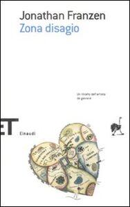 Libro Zona disagio Jonathan Franzen