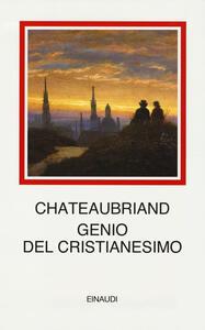 Genio del cristianesimo - François-René de Chateaubriand - copertina