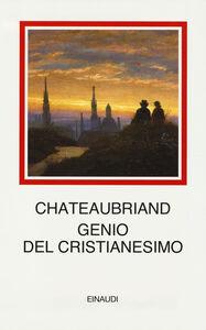 Libro Genio del cristianesimo F.-René de Chateaubriand