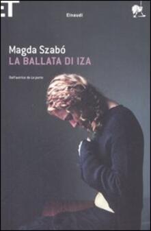 La ballata di Iza - Magda Szabò - copertina