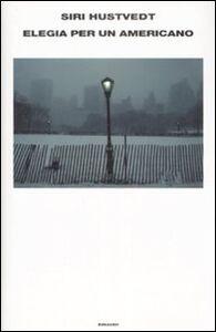 Libro Elegia per un americano Siri Hustvedt