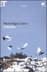 Stagioni - Mario Rigoni Stern - copertina