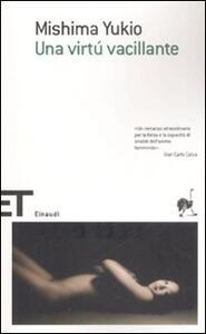 Una virtù vacillante - Yukio Mishima - copertina