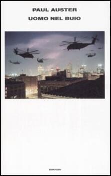 Uomo nel buio - Paul Auster - copertina