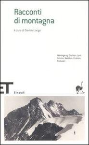 Foto Cover di Racconti di montagna, Libro di  edito da Einaudi