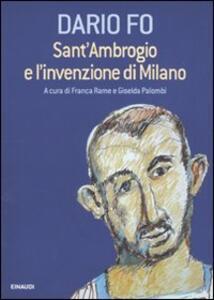 Sant'Ambrogio e l'invenzione di Milano - Dario Fo - copertina