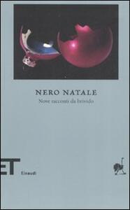 Nero Natale. Nove racconti da brivido - copertina