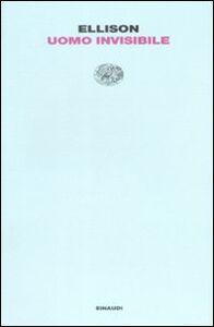 Libro Uomo invisibile Ralph Ellison