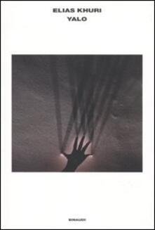 Yalo - Elias Khuri - copertina