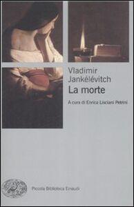 Libro La morte Vladimir Jankélévitch