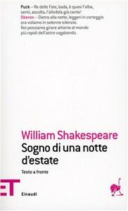 Sogno di una notte d'estate - William Shakespeare - copertina