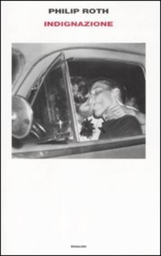 Indignazione - Philip Roth - copertina