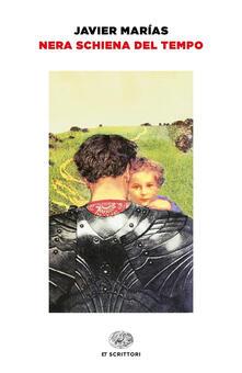 Nera schiena del tempo - Javier Marías - copertina